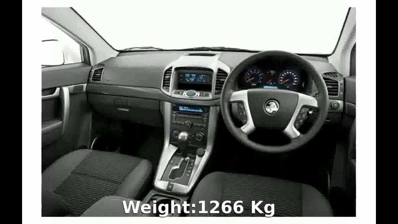 2009 Chevrolet Captiva 20 D Specification Price Speed Specs Top
