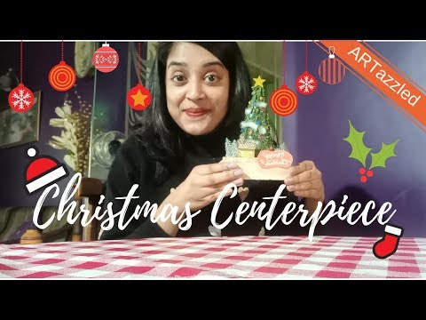 D.I.Y. Christmas Centerpiece ( coolest and easiest)