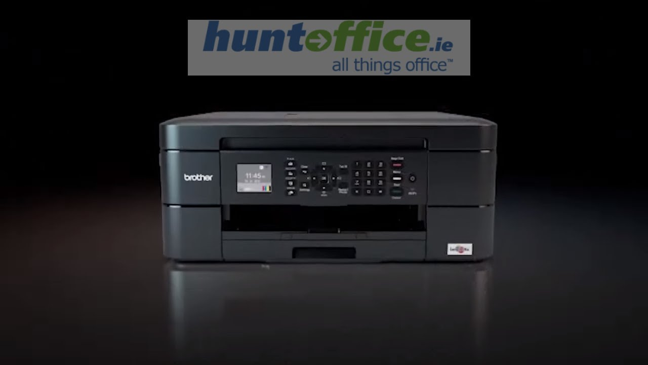 how to connect printer brother mfc-j680dw to wifi