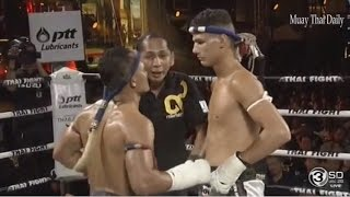 Thai Fight 2016, Julio Lobo (Brazil) VS Saenchai PK Saenchai (Thailand), 24 Dec 2016