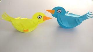 How To Make Paper Birds | DIY | DIY Paper Craft | Paper Crafts | Kids Craft