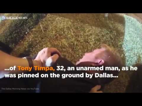 Dallas police pinned down and mocked a man, bodycam footage shows. Minutes later, he was dead