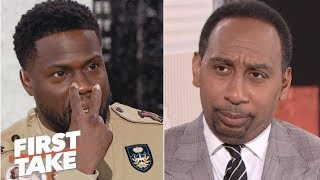Download Kevin Hart defends Philadelphia to Stephen A. | First Take Mp3 and Videos