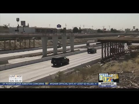 On Kern County In Depth, Road Work Throughout Bakersfield