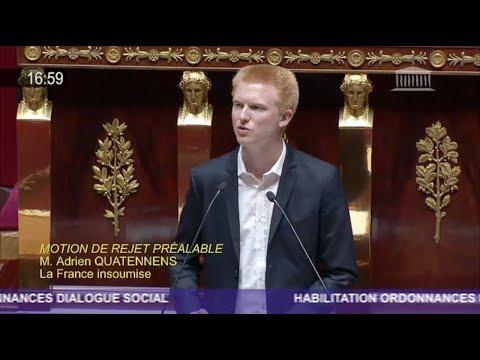 CODE DU TRAVAIL : «VOUS JOUEZ AUX APPRENTIS-SORCIERS» - Adrien Quatennens