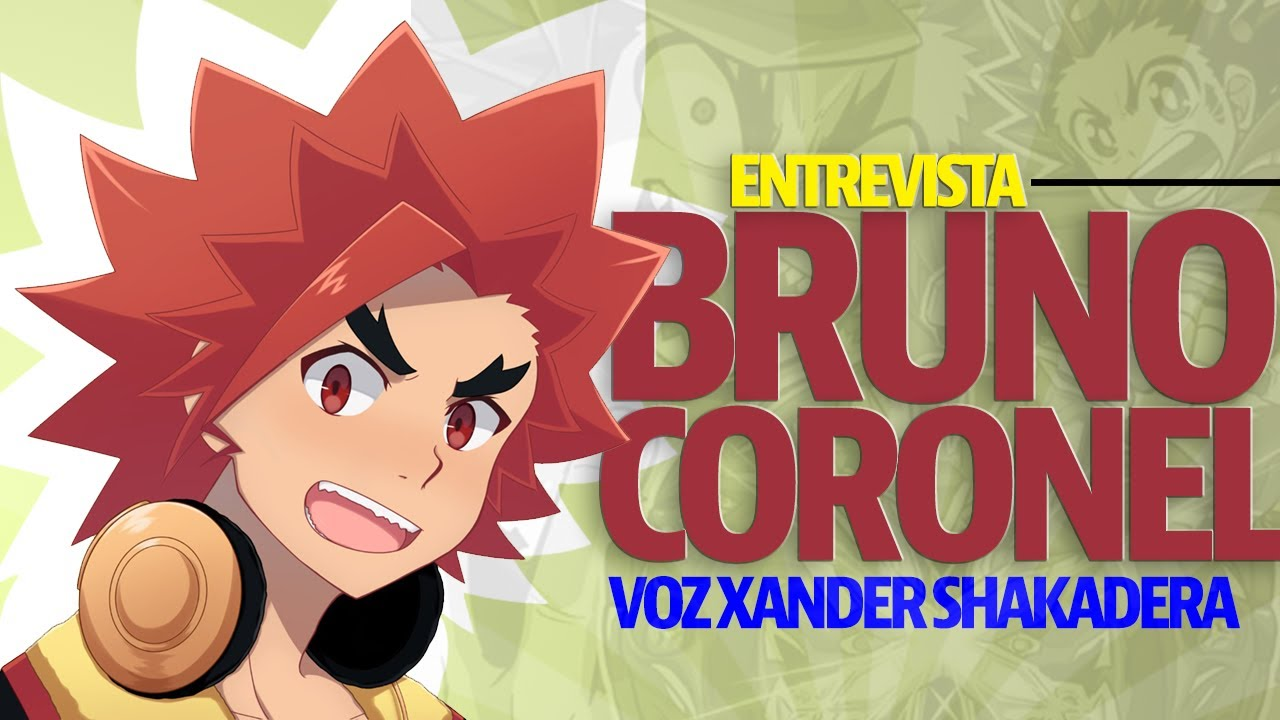 La Voz detrás de Xander Shakaderai💫 Bruno Coronel🎙