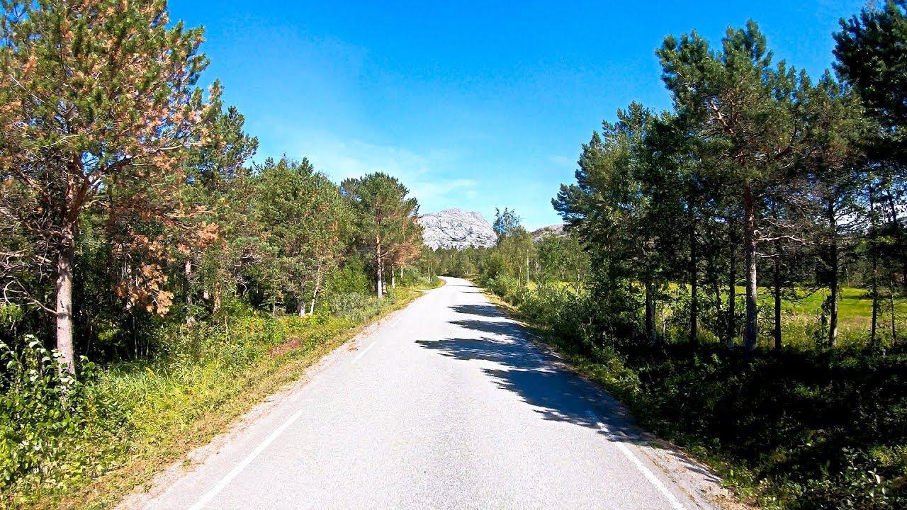 Sørfjorden i Sjunkhatten nasjonalpark