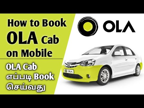 How To Book OLA Cab On Mobile || Book OLA Cab In Tamil || Step By Step || Ravi's Vlog