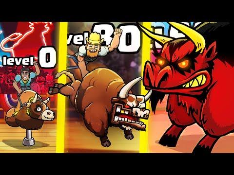 IS THIS THE STRONGEST BULL EVOLUTION? (9999+ BOSS LEVEL UPGRADE) L PBR: Raging Bulls
