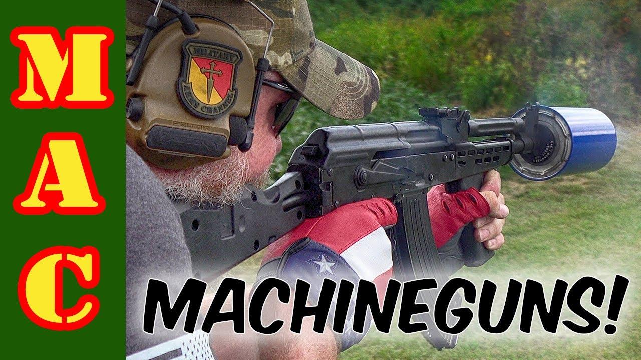 Incredible machine gun shoot and Brownells store tour!