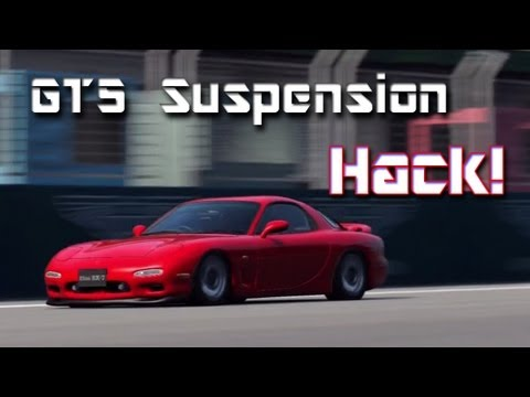 How to Hack Ride Height in GT5! ✔