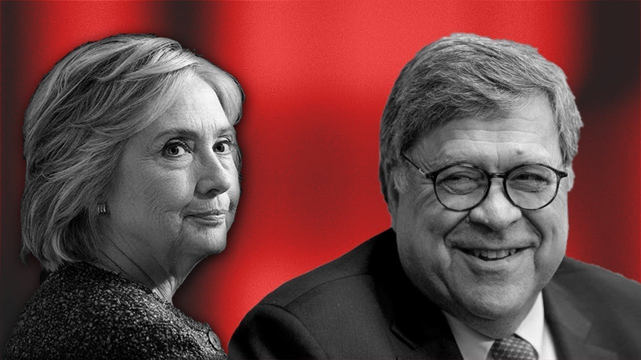 Judicial Watch AG Barr & DOJ Have Enough Evidence to Re-Open Clinton Email Probe--UNCOVERED BY J