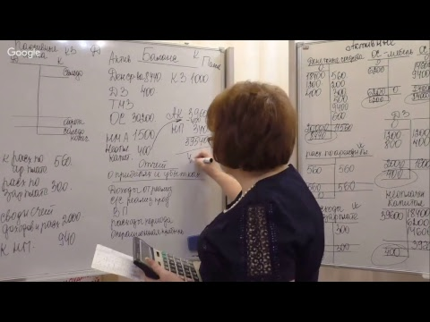 """Мастер-класс Натальи Алексеевой """"Как составить баланс?"""""""