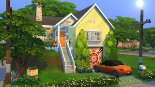 SMALL HOUSE BIG FAMILY | The Sims 4 | Speed Build | NO CC