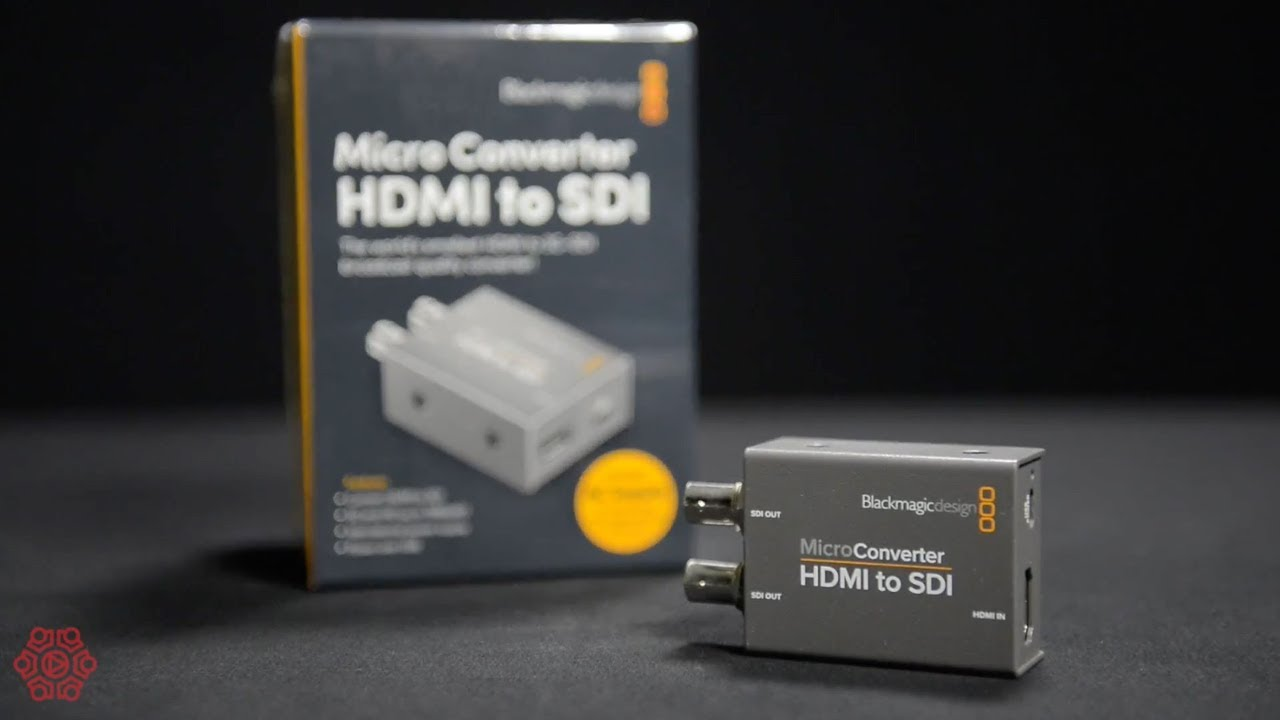Blackmagic Micro Converter Hdmi To Sdi Youtube
