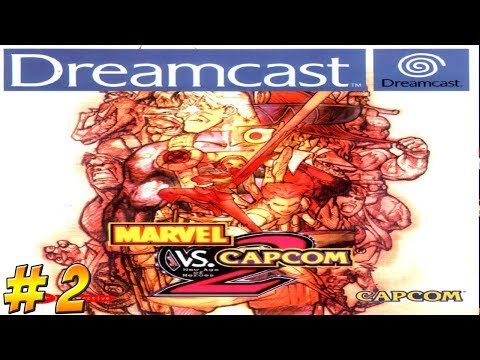 Dreamcast Belated Birthday! Marvel vs Capcom 2! Part 2 - YoVideogames - 동영상