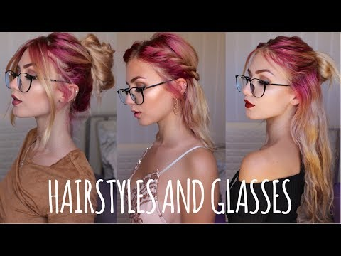 Easy Hairstyles for People with Glasses | Firmoo.com | Stella