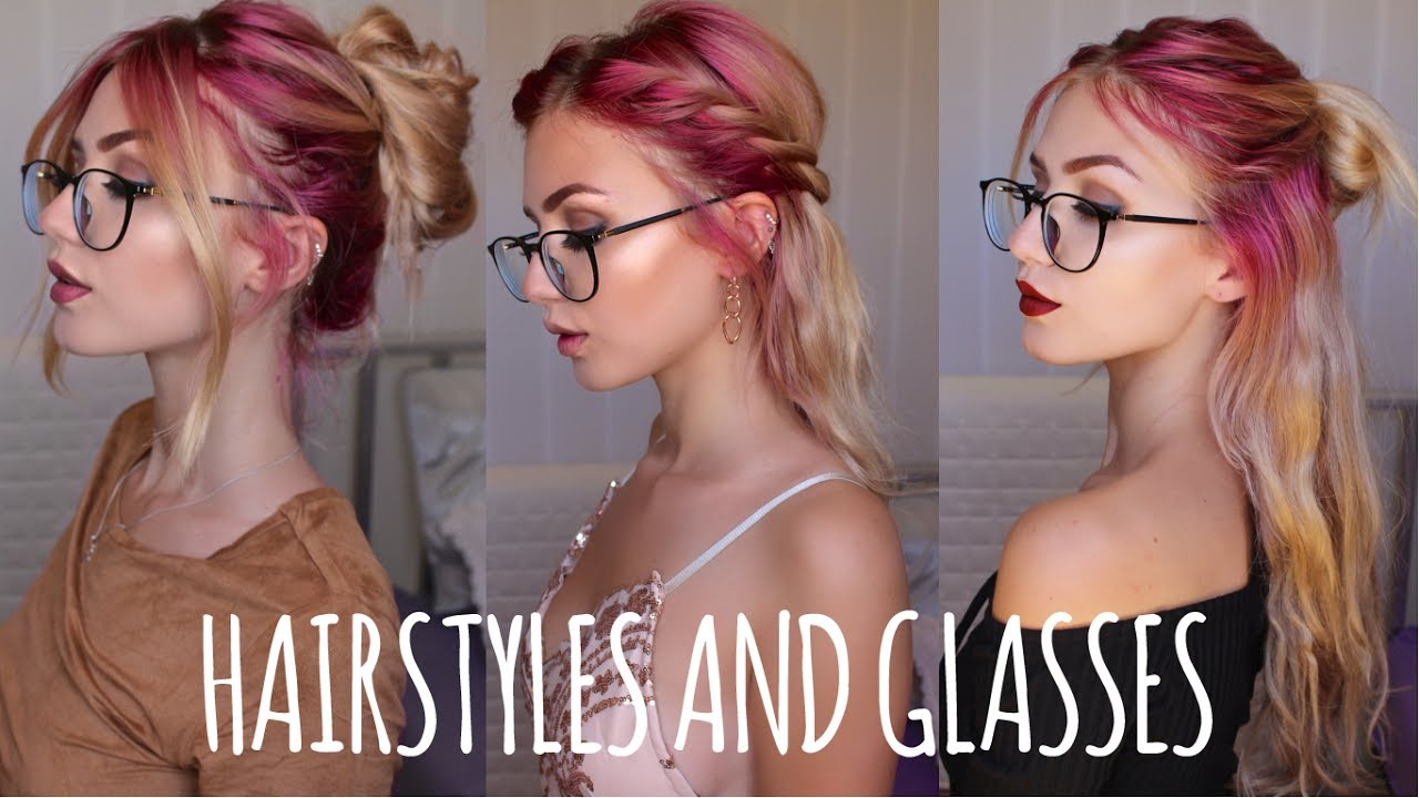 Easy Hairstyles For People With Glasses Firmoo Stella Youtube