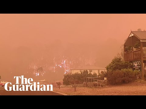 Australia: bushfires rage in New South Wales from YouTube · Duration:  54 seconds