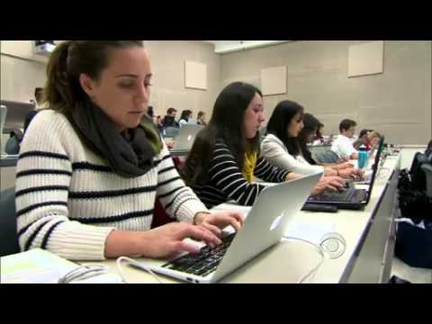 Law students struggle to find work   CBS News Video