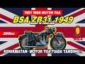 Nyobain Motor Langka Dari Inggris (bukan Motor Custom!)   Bsa Salur Zb31 1949