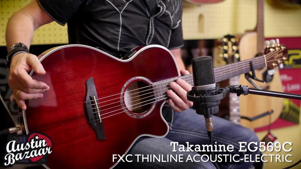 Takamine EG569C FXC Thinline Acoustic Electric Guitar
