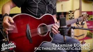 Takamine EG569C FXC Thinline Acoustic-Electric Guitar - Brad Davis