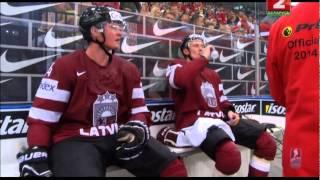 видео: Беларусь - Латвия: 3:1. Грубейшая игра Латвии во втором периоде.