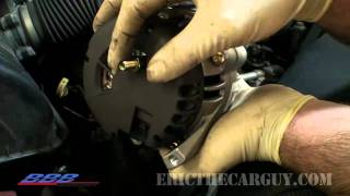 How to Change (remove & replace) an Alternator