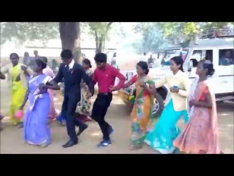 Nagpuri chain dance with Dulha Part 2