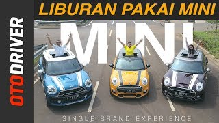 Download lagu MINI Clubman vs Countryman vs Hatchback 2017 Indonesia | Single Brand Experience | OtoDriver