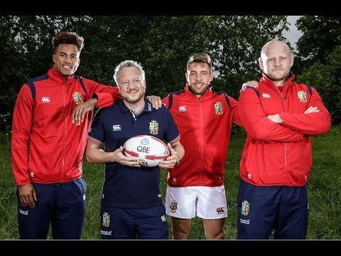 QBE and The British & Irish Lions: Life In The Lions Camp: Paul