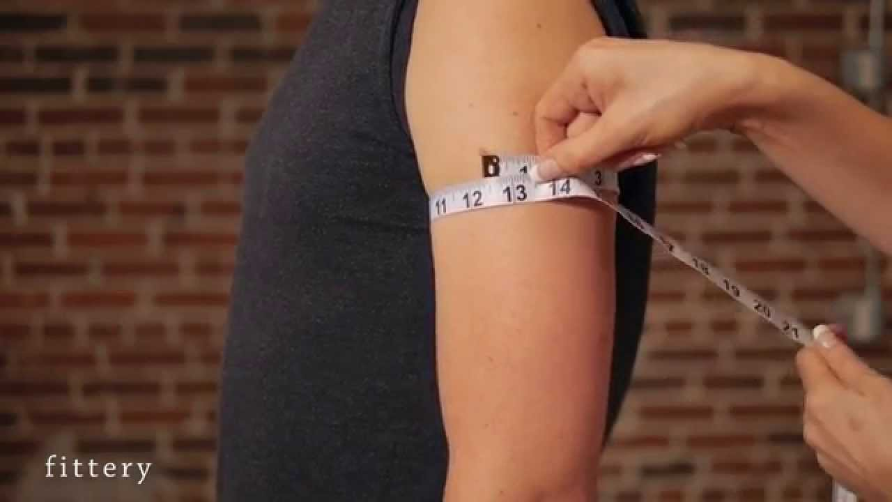 How To Measure Your Bicep Ery