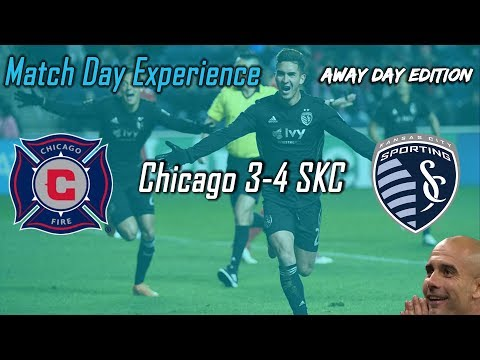 Match Day Experience - Away Day Edition VS Chicago Fire - 3/10/18