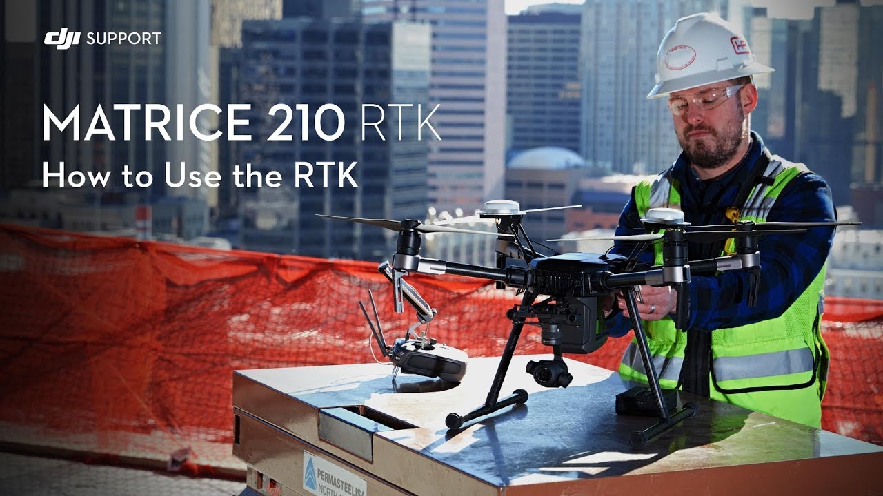 How to Set Up D-RTK on the DJI Matrice 210