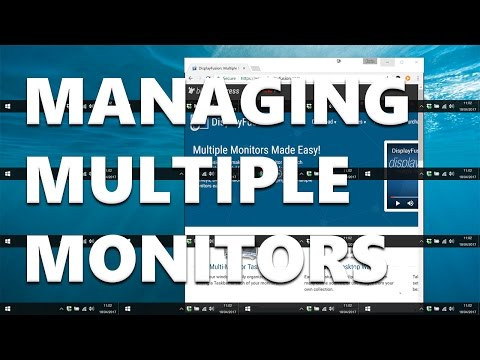How to Manage Multiple Monitors with DisplayFusion