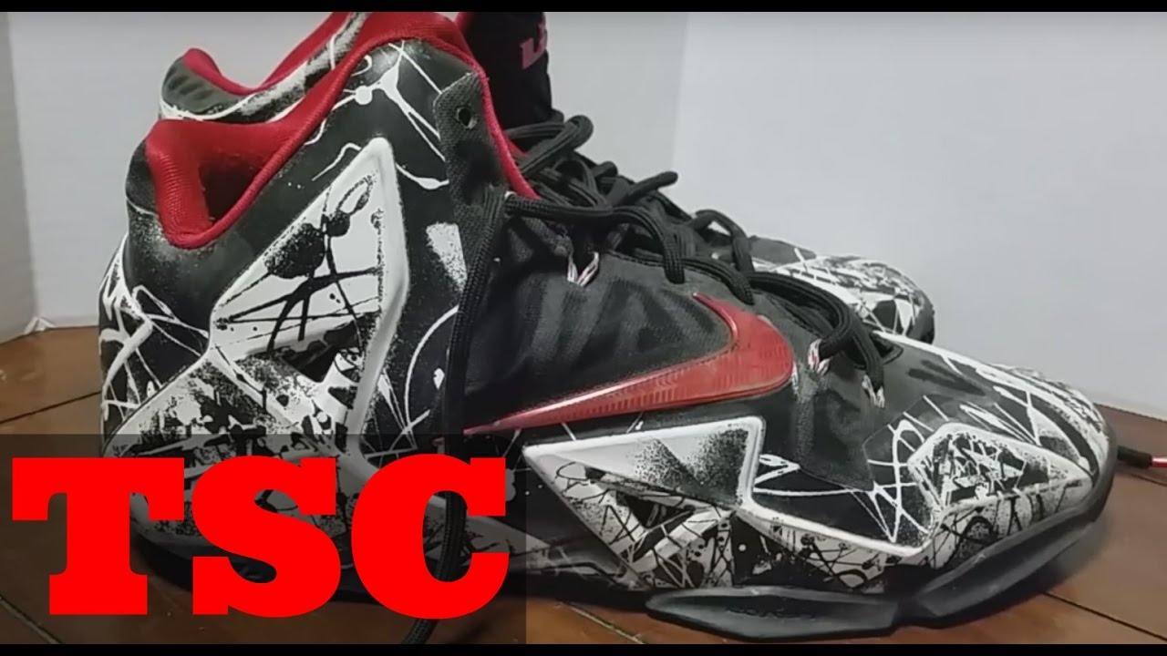 The Sneaker Chop Nike Lebron James 11