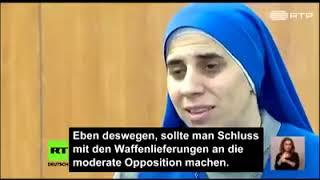 Nonne aus Aleppo entlarvt westliche Medienpropaganda gegen Syrien