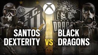[BR] SANTOS DEX  vs. BLACK DRAGONS   Play Day #6   EliteSix S02 (XBOX)