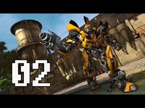 Transformers: Dark of the Moon Walkthrough Part 1 Chapter 2 Gameplay No Commentary