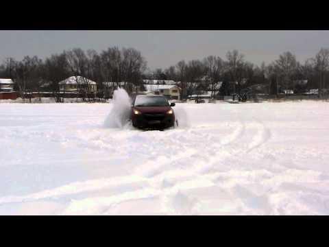IX35 и снег