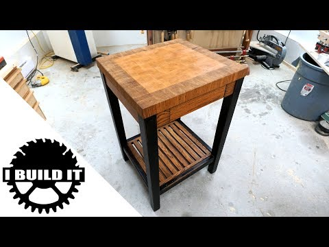 Let's Look At / Fix My Butcher Block Table