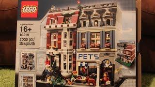 Lego - Pet Shop - Review - 10218