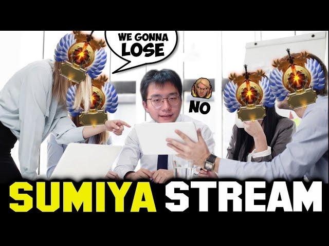 When SUMIYA's Teammate think that this Game Is GG   Sumiya Invoker Stream Moment #1787