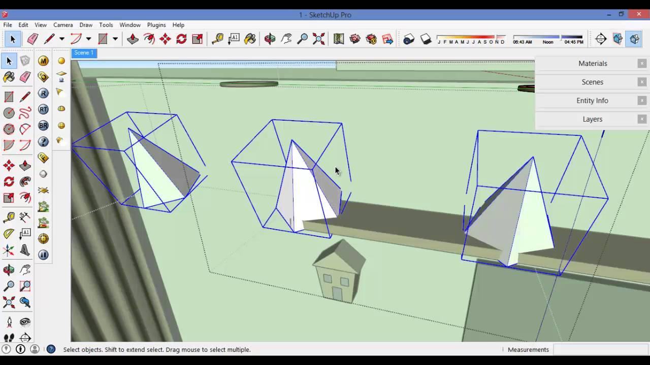 ورشة التصميم الداخلى باسكتش اب 2 :) .. SketchUp Interior Workshop 2
