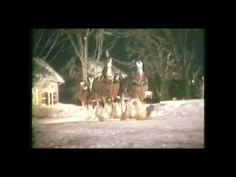 Budweiser Christmas ad (1981) HD