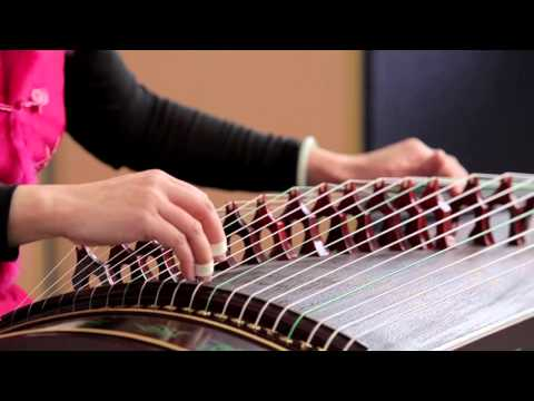 "Clearview School Guzheng Solo "" Songs of Fishing Boats at Dusk"" 古筝独奏 ""渔舟唱晚"""
