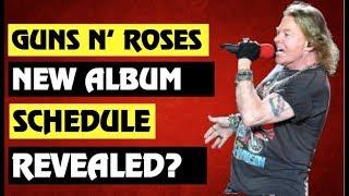 Guns N' Roses News: New Album Schedule Revealed?