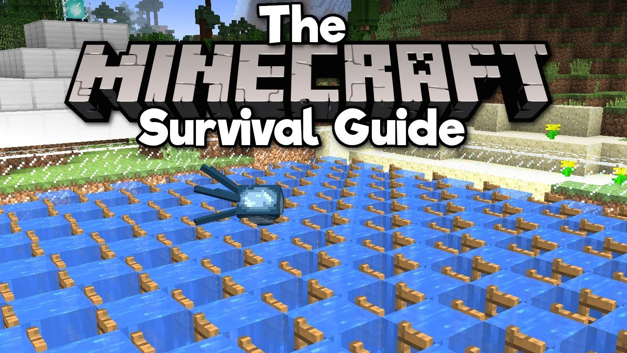 Ink Farm Pt 1 Draining A River The Minecraft Survival Guide Tutorial Lets Play Part 81 Youtube