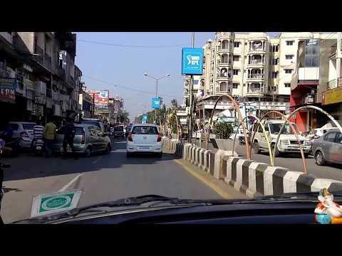 Driving in Bardoli, Gujarat, India - Incredible India